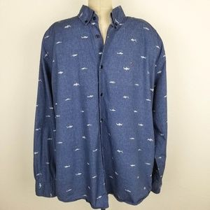 Tommy Hilfiger Classic Fit Sharks Shirt